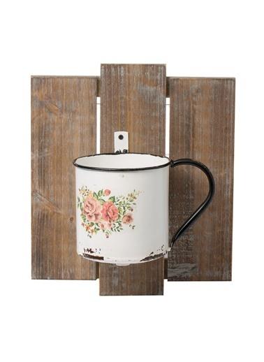 Warm Design Duvar Çiçek Saksısı  Renkli